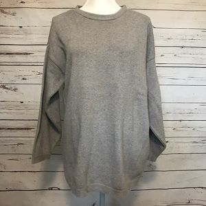 525 made in America women's gray sweater